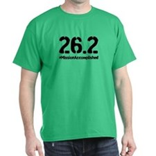 Full Marathon: Mission Accomplished (Black) T-Shir