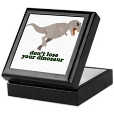 Don't Lose Your Dinosaur Keepsake Box