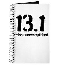 Half Marathon: 13.1 Mission Accomplished Journal