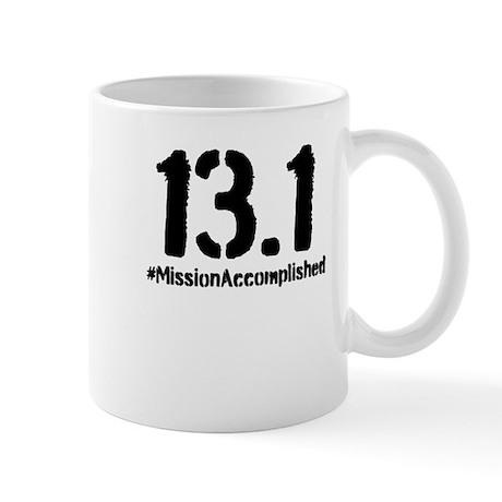Half Marathon: 13.1 Mission Accomplished Mug