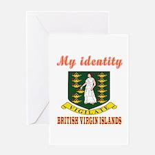 My Identity British Virgin Island Greeting Card