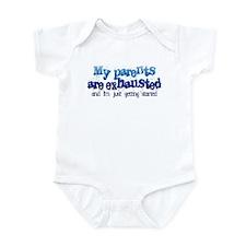 Parents Exhausted Infant Bodysuit