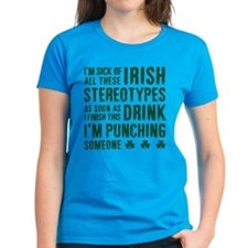 Irish Stereotypes Tee