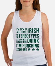 Irish Stereotypes Women's Tank Top