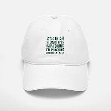 Irish Stereotypes Baseball Baseball Cap