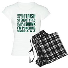 Irish Stereotypes Pajamas