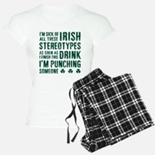 Irish Stereotypes Pajamas