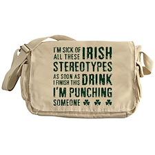 Irish Stereotypes Messenger Bag