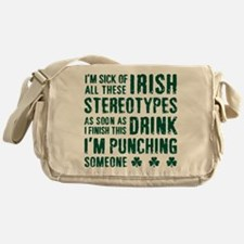 Irish Stereotypes Messenger Bag