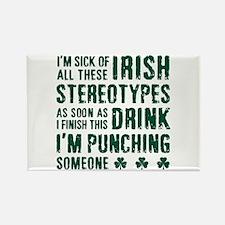 Irish Stereotypes Rectangle Magnet