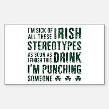 Irish Stereotypes Decal