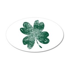 Vintage Lucky Shamrock Wall Decal