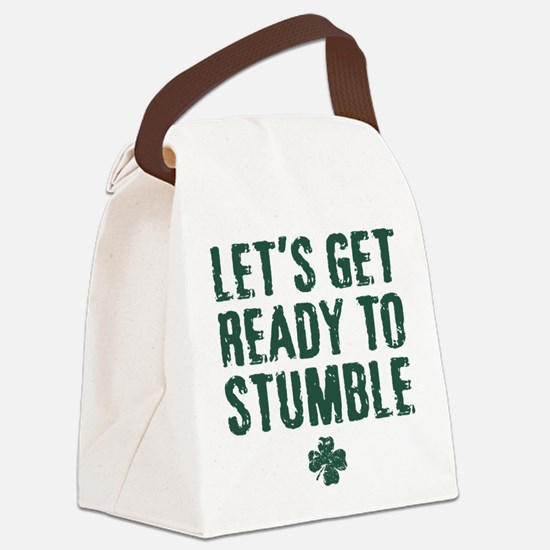 Ready to Stumble Canvas Lunch Bag