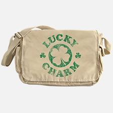 Vintage Lucky Charm Messenger Bag