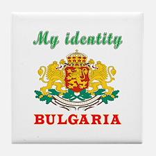 My Identity Bulgaria Tile Coaster