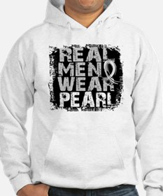 Real Men Lung Cancer Hoodie