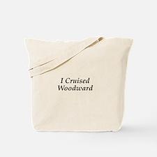 I Cruised Woodward Tote Bag