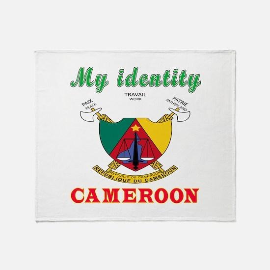 My Identity Cameroon Throw Blanket