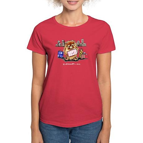 City Pomeranian Women's Dark T-Shirt