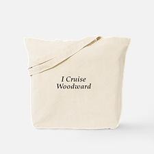 I Cruise Woodward Tote Bag