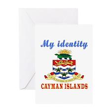 My Identity Cayman Islands Greeting Card