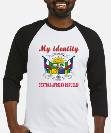 My Identity Central African Republic Baseball Jers
