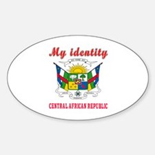 My Identity Central African Republic Decal