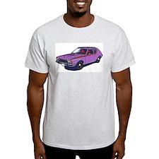 Purple Gremlin Ash Grey T-Shirt