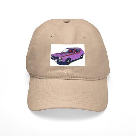Purple Gremlin Cap Khaki