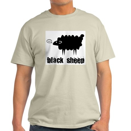 Black Sheep Ash Grey T-Shirt