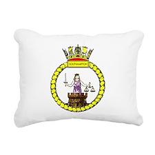 HMS Southampton Rectangular Canvas Pillow