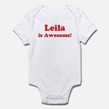 Leila is Awesome Infant Bodysuit