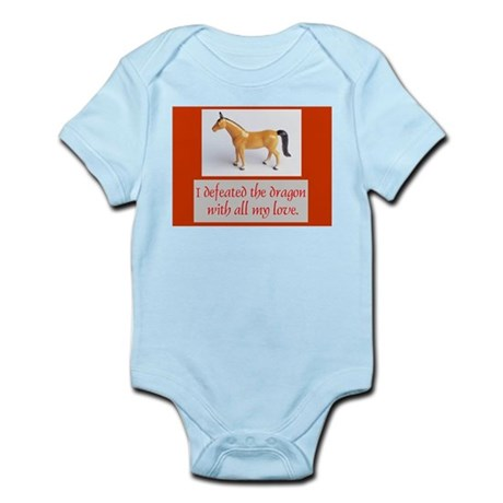 I Defeated The Dragon Infant Bodysuit