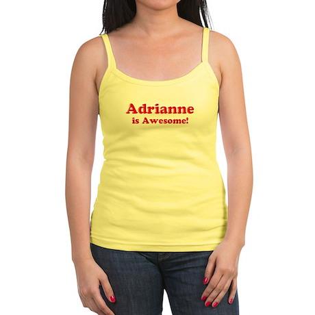 Adrianne is Awesome Jr. Spaghetti Tank