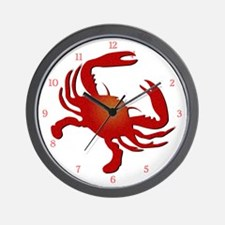 Crabby Pants Wall Clock