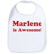 Marlene is Awesome Bib