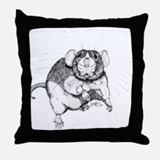 Dumbo Rat Throw Pillow