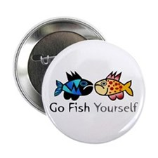 Go Fish Yourself Button