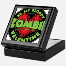 Be My Bloody Zombie Valentine! Keepsake Box