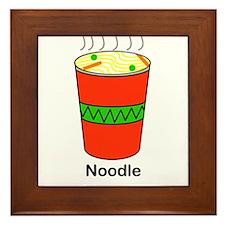 Noodle Framed Tile