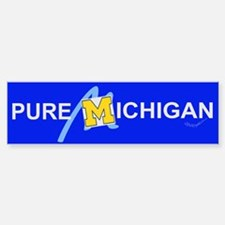 Pure Michigan Bumper Bumper Bumper Sticker