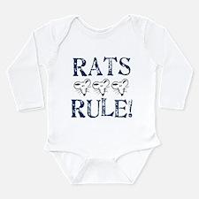 Rats Rule Trio Body Suit