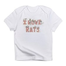 I LOVE RATS Infant T-Shirt
