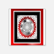"Cherokee Nations Square Sticker 3"" x 3"""
