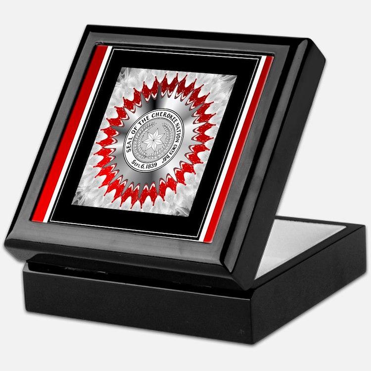 Cherokee Nations Keepsake Box