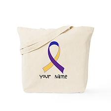 Personalized Bladder Cancer Tote Bag