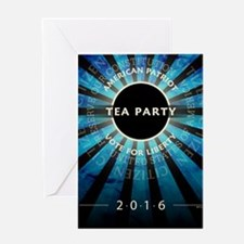 Tea Party 2016 Greeting Card