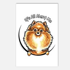Orange Pomeranian IAAM Postcards (Package of 8)