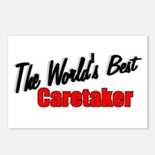 """""""The World's Best Caretaker"""" Postcards (Package of"""