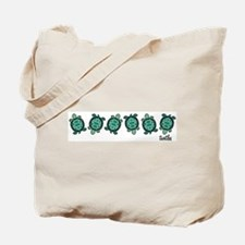 Turtle Town Tote Bag